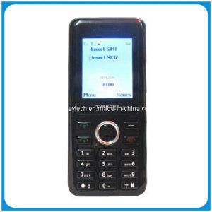 1,8 polegadas cartões SIM Dual quad band TV Telefone móvel Dual Standby Ecc9