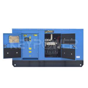 세륨 증명서를 가진 파란 색깔 93kw Genset 50Hz 침묵하는 디젤 엔진 발전기 세트