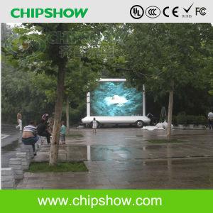 La publicité mobile Chipshow Outdoor P10 pleine couleur Affichage LED du chariot