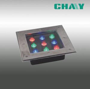 Het hoge RGB LEIDENE van de Macht 12W Ondergrondse Licht van de Lamp (mijn-md-006)