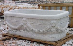 Vasca Da Bagno Marmo : Vasca di bagno classica antica della stanza da bagno con granito