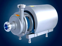 ステンレス鋼の衛生遠心ポンプ(GWB)