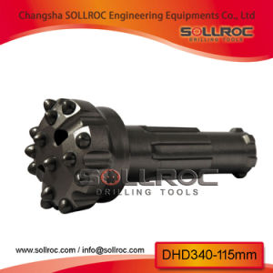 DHD340 Down The Hole DTH Hammer Bits per Drilling