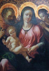 Godsdienstig Olieverfschilderij (AHR06)