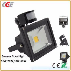 10W/20W/30W/50W lâmpadas no exterior do sensor de movimentos PIR de infravermelhos Holofote LED lâmpada LED