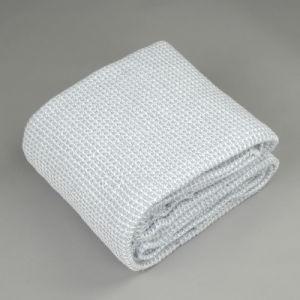 Nueva moda hilado teñido Chambray manta de algodón tejido laminado