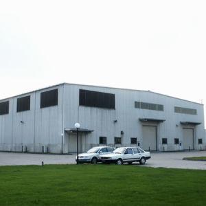Het volledig Behandelde Pakhuis van de Structuur van het Staal met de Loods van de Luifel