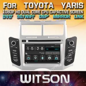 Lettore DVD di multimedia dell'automobile di Witson Windows per Toyota Yaris 2005 2011