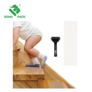 半透明な安全階段踏面およびテープローラーまたは反スリップのゆとりの付着力のストリップ、赤ん坊または年長者またはペット安全、Indoor&Outdoor