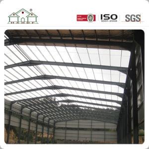 Magazzino prefabbricato della struttura d'acciaio con la certificazione internazionale di qualità