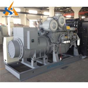 パーキンズエンジンを搭載する250kw発電機