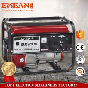 certificado CE 5Kw Gasiline gerador com preço de fábrica