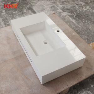 Bassin de la salle de bains Corian Surface solide lavabo à montage mural
