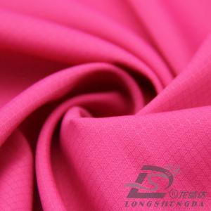 75D 190t Tecidos Jacquard Plaid Taffeta 100% de tecido de poliéster (JPFQ63046A)