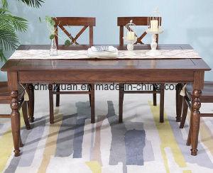 Твердый деревянный обеденный стол в гостиной мебели (M-X2848)