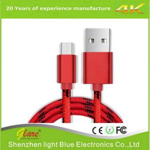 Tipo ad alta velocità C - cavo Braided di nylon del USB