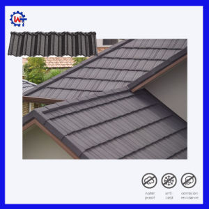 新しいデザイン高品質の屋根ふき材料の石の上塗を施してある屋根瓦