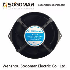172X150X55mm Qualität-lärmarme Metallschaufel-industrieller Ventilator