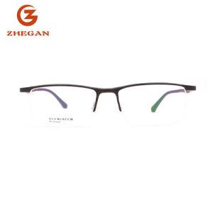 Новая конструкция популярная Rim металлические очки марки леди очки женщин очков оптических рамы
