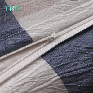 工場販売の卸売の別荘の小切手のベッドカバーセット