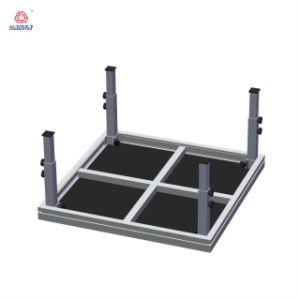조정가능한 단계 Anti-Slip 합판 플래트홈