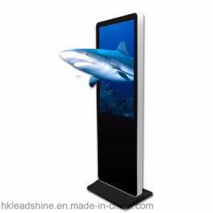43 인치 3D 전시 디지털 Signage 간이 건축물 수직 모형