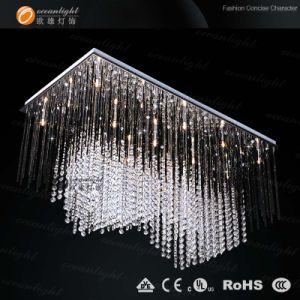 Luz de tecto lustre de cristal LED OM306