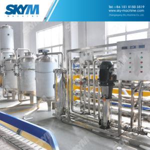 Sistema di trattamento di acqua di osmosi d'inversione con pre i filtri da trattamento