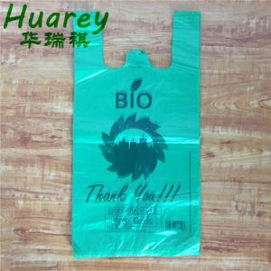 Plástico Biodegradable durabilidad reutilizables HDPE Bolsa camiseta