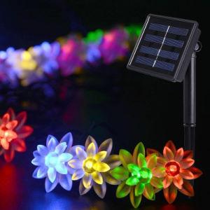 屋外の太陽ストリングクリスマスの照明太陽ライト