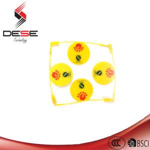 Fácil de plástico de DS-6004 Haga clic en la junta de candado