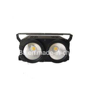 2X100W穂軸の白く暖かい白2in1 LEDの視覚を妨げるものライト