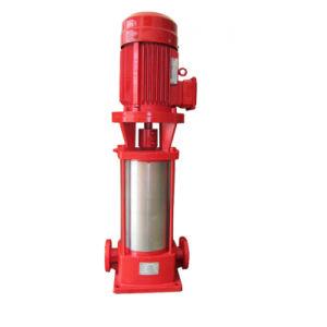 Xbd-je lutte contre les incendies Pompe à eau centrifuge verticale
