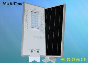 1800-1900lm imprägniern alle in einem integrierten LED-Solarstraßenlaterne