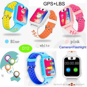 Sos GPS het Horloge van de Drijver met het Kleurrijke Scherm van Aanraking 1.54  TFT