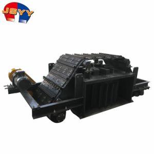 Separatore magnetico pulito di auto elettromagnetico asciutto del separatore del minerale ferroso del nastro trasportatore di Overband