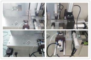 Aluminiumdas tür-Fenster-Herstellungs-Maschinen-Aluminiumfenster-Maschinen-Aluminiumtür und Fenster, die Maschine Eckverbinder-Ausschnitt bildet, sahen