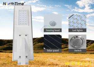 Energiesparende wasserdichte IP65 erfassende LED SolarSelbststraßenlaternen