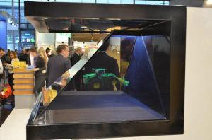 Yashi 17 '' LCD Bildschirmanzeige-ganz eigenhändig geschrieber Video-Player 3D für das Bekanntmachen