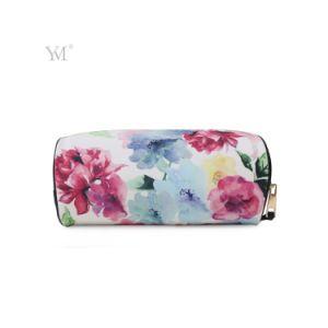 Mode motif décoratif Hottest PVC cosmétiques en cuir Sac de rangement pour dame