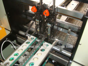 トリマー(PSFM-35Z)が付いている演習帳のステッチの折る機械