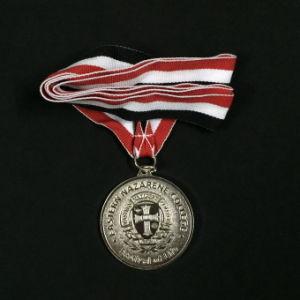リボンが付いているカスタム亜鉛合金メダル