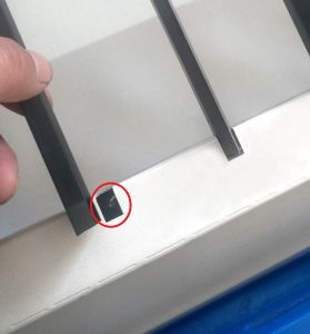 Couro de acrílico madeira CNC cortados a laser