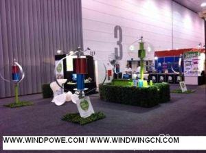 より少ない25dB 1000W Maglevの風カエネルギーの発電機は60m/Sをできることができる