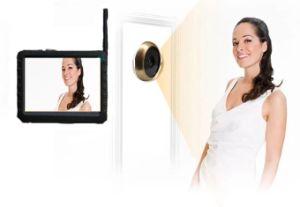 Wireless Mini Cámara con tamaño de la mirilla de la puerta original TE50