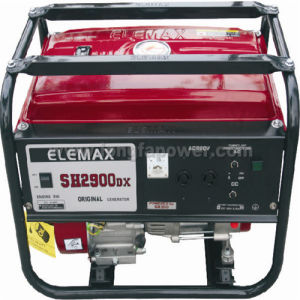 Elefuji 2.5kVA motor de gasolina de alambre de cobre generador