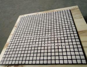 92% 고무 착용 격판덮개에 있는 Al2O3 도기 타일