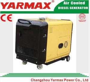 5kVA type silencieux refroidi par air générateur de diesel