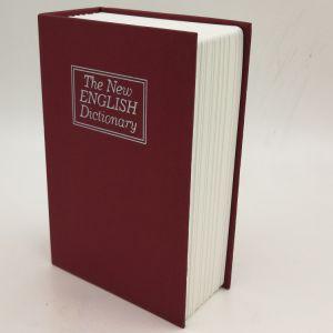 Gran diccionario secreto Libro Caja de seguridad con cerradura de combinación