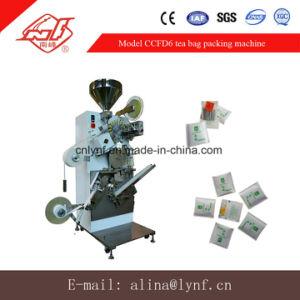Máquina de saquinho de chá com saco exterior cravada Ccfd Modelo6//31 Anos a fábrica para máquina de embalagem saquinho de chá//